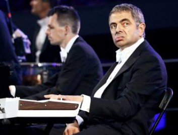 Rowan Atkinson, in arte Mr Bean
