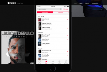 Un'anteprima di Apple Music