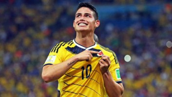 James Rodriguez, 22 anni, colombiano,