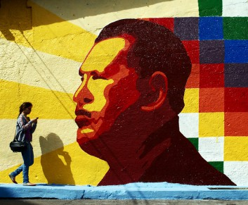 Murales - Chavez -  Flickr - David Ernandez