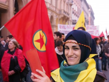 Global day per Kobane a Bologna